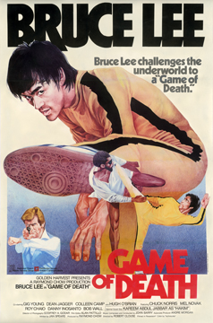 GAME OF DEATH, poster; Robert Clouse ; 1978.  Courtesy of the Stephen Chin Collection, Academy's Margaret Herrick Library.