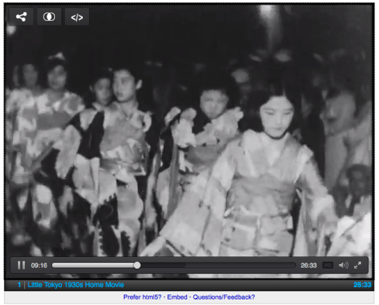 1930s Little Tokyo Nisei Week Parade